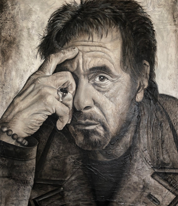 Al Pacino, The Godfather (140 x 120)